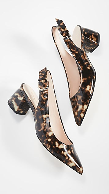 Kate Spade New York Туфли-лодочки на толстом каблуке Mika