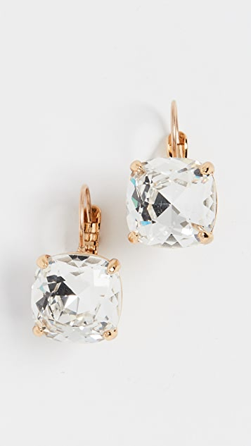 Kate Spade New York Small Square Leverback Earrings