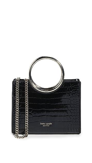 Kate Spade New York Миниатюрная сумка-портфель Sam с браслетом