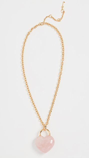 Kate Spade New York Stone Lock Pendant