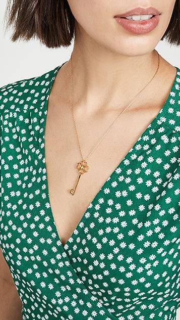Kate Spade New York Large Cut Out Spade Key Pendant