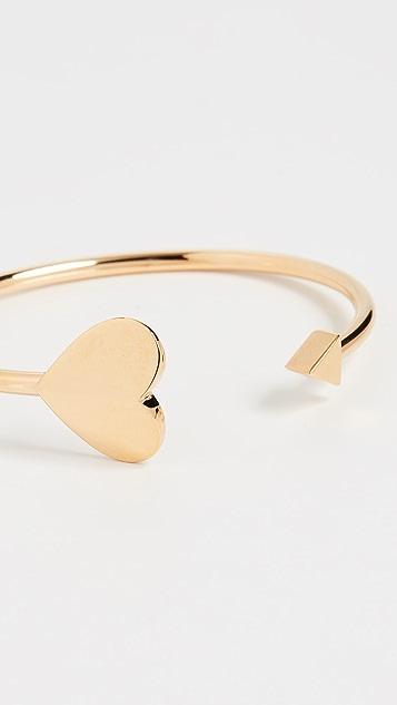 Kate Spade New York Металлический браслет-манжета Spade Flex
