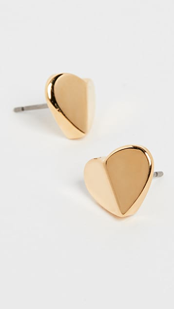 Kate Spade New York Small Heart Stud Earrings