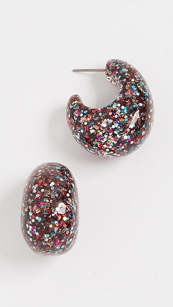 Kate Spade New York Glitter Huggies