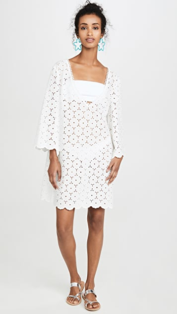 Kate Spade New York Eyelet Cover Up