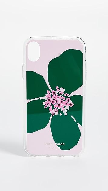 Kate Spade New York Чехол Grand Flora с камнями для iPhone