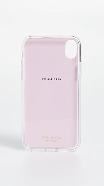 Kate Spade New York Jeweled Grand Flora iPhone Case