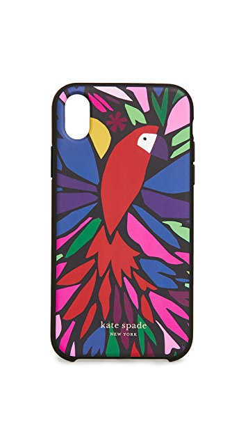 Kate Spade New York Papercut Parrot iPhone Case