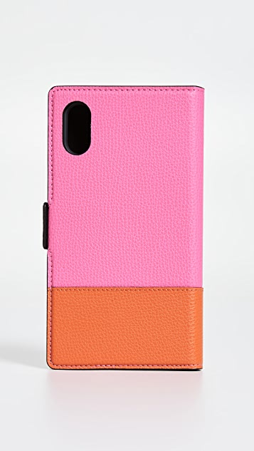 Kate Spade New York Sylvia Magnetic Folio iPhone Case