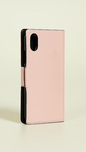 Kate Spade New York Lucky Ladybug Folio iPhone Case