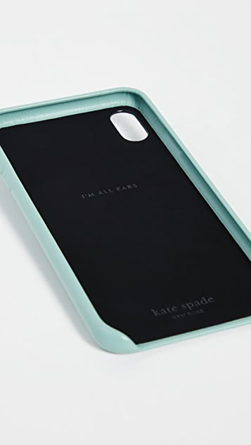 Kate Spade New York 彩虹云朵贴片 iPhone 手机壳