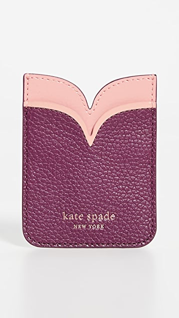 Kate Spade New York Sam 双贴纸口袋