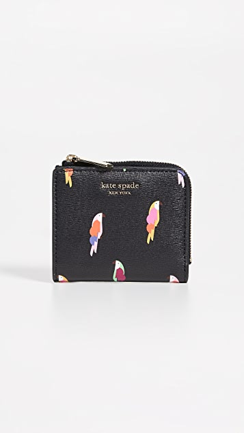 Kate Spade New York Slyvia Flock Party Small Bifold