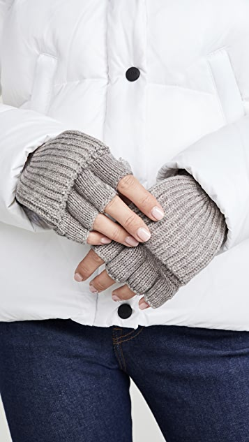 Kate Spade New York Bow Pop Top Gloves