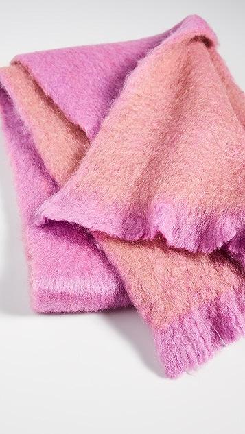 Kate Spade New York Fuzzy Woven Scarf