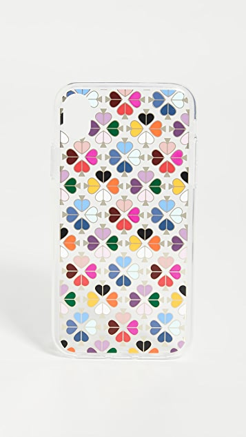 Kate Spade New York Foil Spade iPhone Case