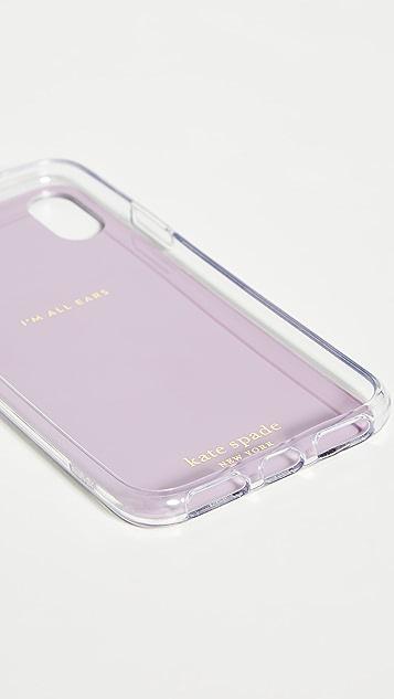 Kate Spade New York Glitter Panthera iPhone Case