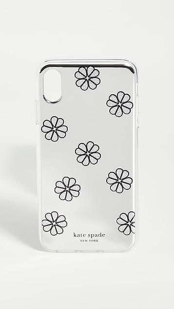 Kate Spade New York Mirror Spade iPhone Case