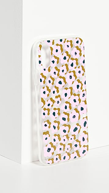 Kate Spade New York Jeweled Flair Flora iPhone Case