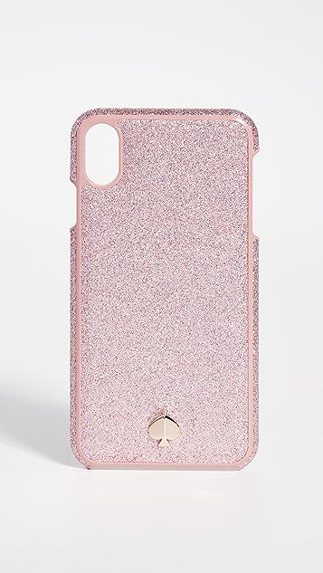 Kate Spade New York Чехол iPhone со вставкой с блестками