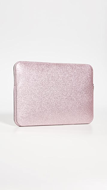 Kate Spade New York Glitter Laptop Sleeve