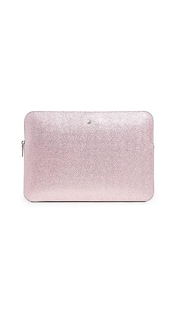Kate Spade New York Glitter Laptop Sleeve