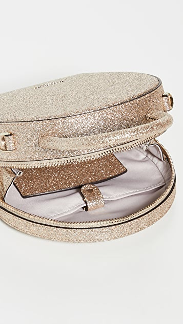 Kate Spade New York Andi Glitter Mini Canteen Bag