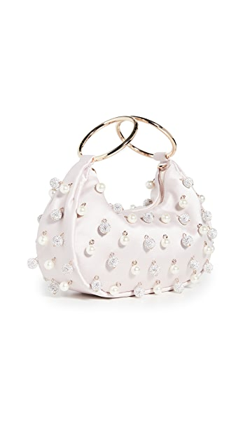Kate Spade New York Collins Imitation Pearl Pave Bracelet Clutch
