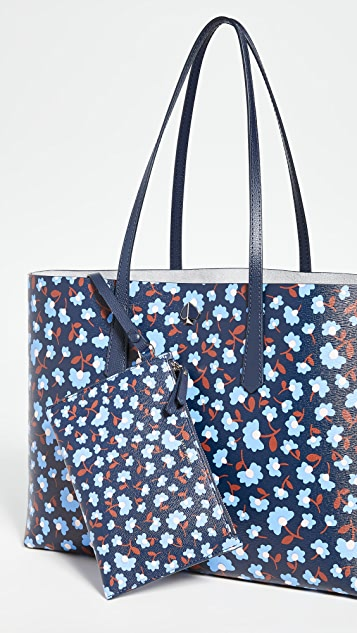 Kate Spade New York Molly Party Floral Large Tote