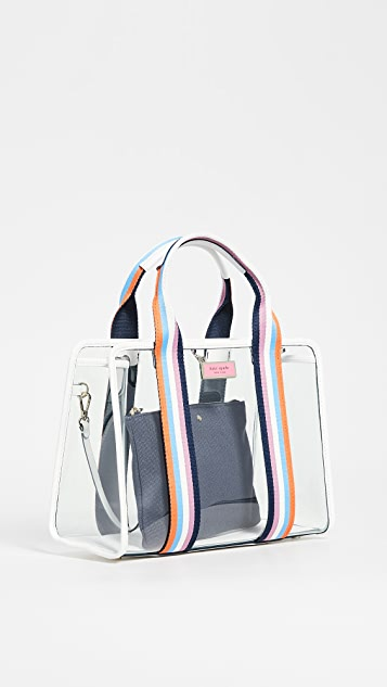 Kate Spade New York Sam See Through Satchel Bag