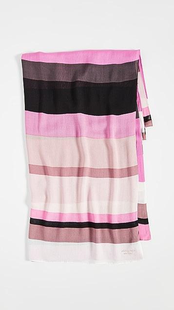 Kate Spade New York Продолговатый шарф в полоску Rita