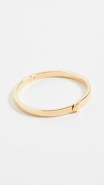 Kate Spade New York Thin Metal Spade Bangle Bracelet