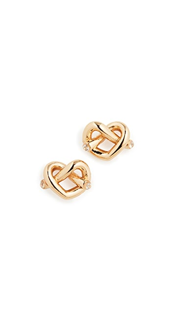 Kate Spade New York Love Me Knot Stud Earrings