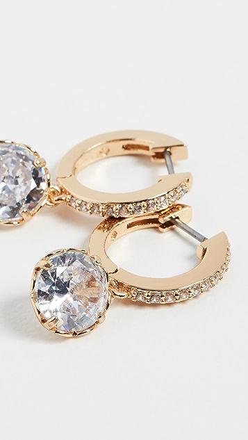 Kate Spade New York Pave Huggie Earrings