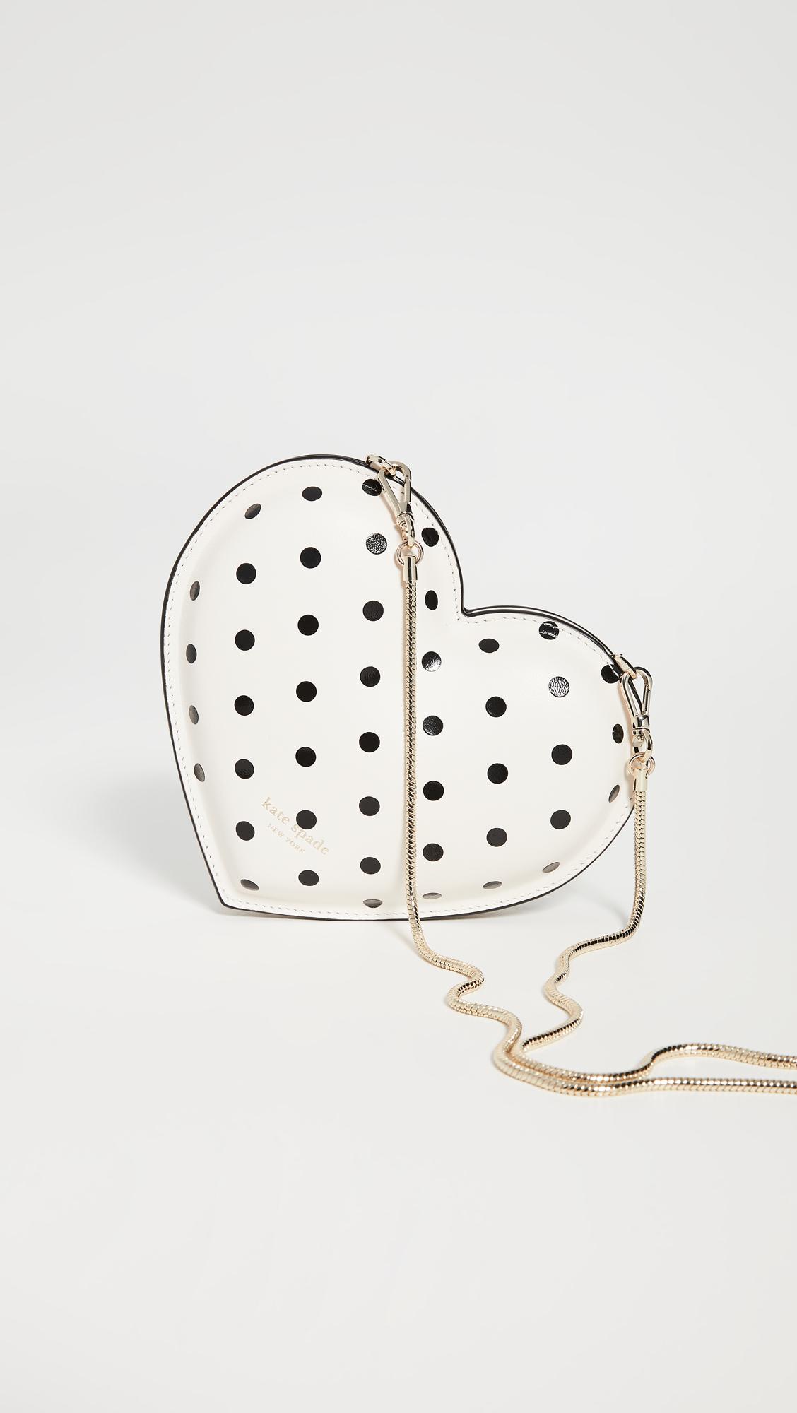 Kate Spade New York Cabana Dot Heart Crossbody Bag
