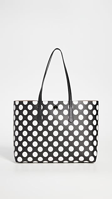Kate Spade New York Molly Bikini Dot Large Tote Bag