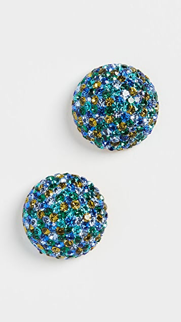 Kate Spade New York 彩色水晶耳钉