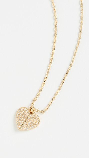 Kate Spade New York Pave Mini Pendant Necklace