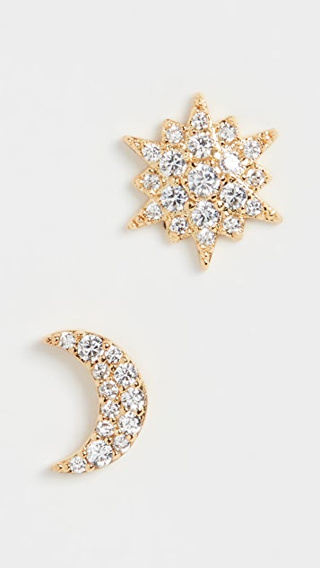 Kate Spade New York Asymmetrical Studs