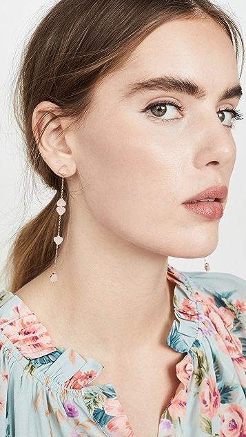 Kate Spade New York 个性线形耳环