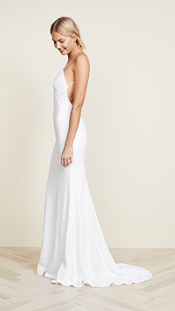 Katie May Sequins Naked Lanai Gown