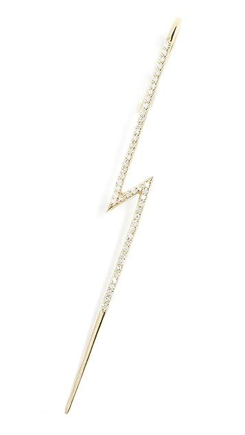 KatKim Flash Pave Ear Pin