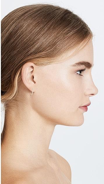 KatKim The Petite Diamond Ear Pin