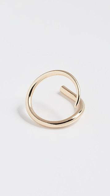 KatKim Diamond Pin Ring