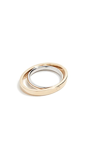 KatKim 18k Echo Ring