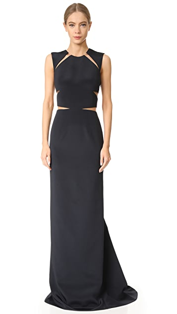 KAUFMANFRANCO Sleeveless Gown