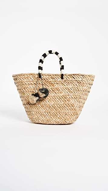 Kayu Объемная сумка St Tropez с короткими ручками