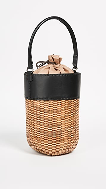 Kayu Lucie Wicker Bucket