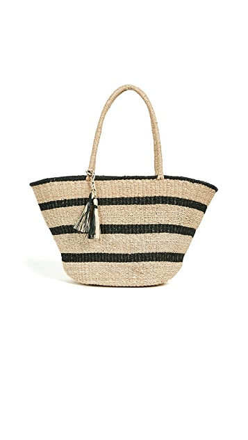 Kayu Mare Striped Tote