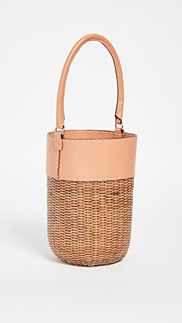 Kayu Lucie Wicker Tote